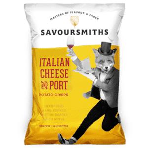 Savoursmiths Chips - Italian Cheese & Port