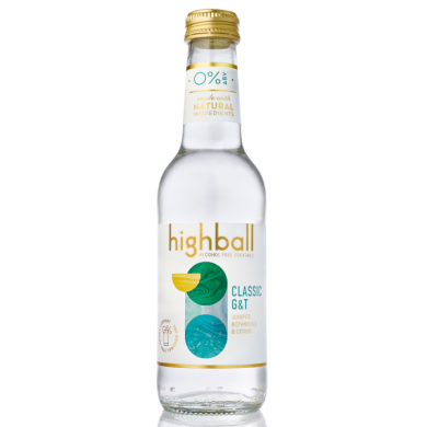 Highball Alcohol Free Cocktails – Classic G&T